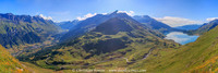 Vallée de la Haute-Maurienne et le lac du Mont-Cenis