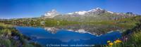 Lac Blanc et Massif de la vanoise