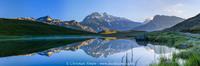 Lac du Plan du lac et la Grande-Casse